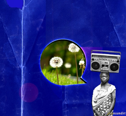 digital collage from website banner for Once Upon A Time In The Projects