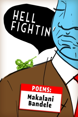 alternate proposed cover for Makalani Bandele's debut poetry collection