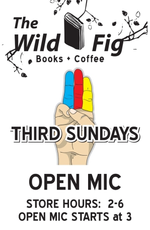 poster for Wild Fig open mic